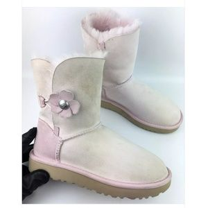 UGG Bailey Button Poppy Boots